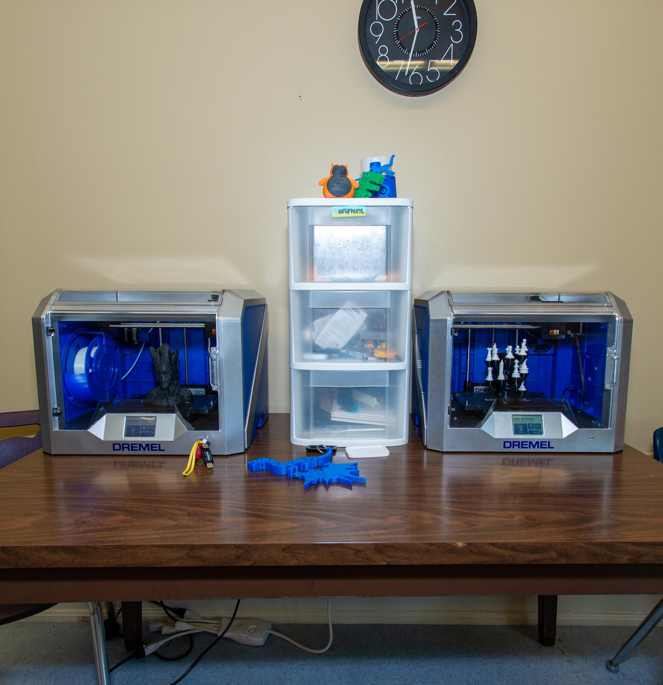 3D Printing Station at WGA
