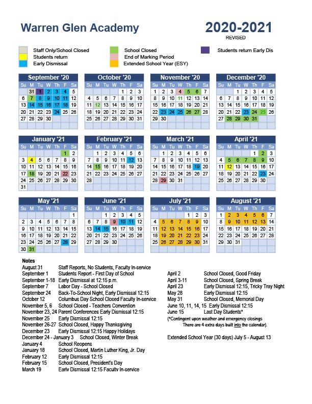 UPDATED 2020-2021 tile calendar Aug 2020-01